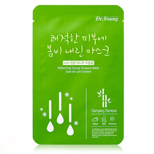 [Dr. Young] Refreshing Spring Showers Mask (With Damyang Bamboo)