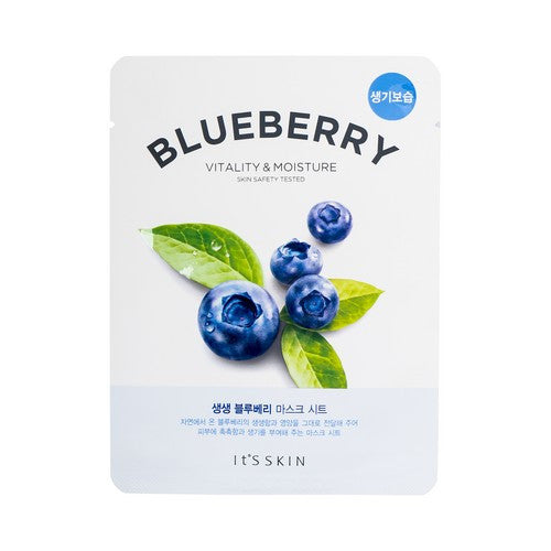 [It's Skin] The Fresh Mask Sheet -Blueberry