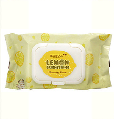 [Skinfood] Lemon Brightening Make-up Remover and Cleansing Wipes