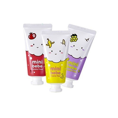 [It's Skin] Mini Bebe Creamy Foam Facial Cleanser
