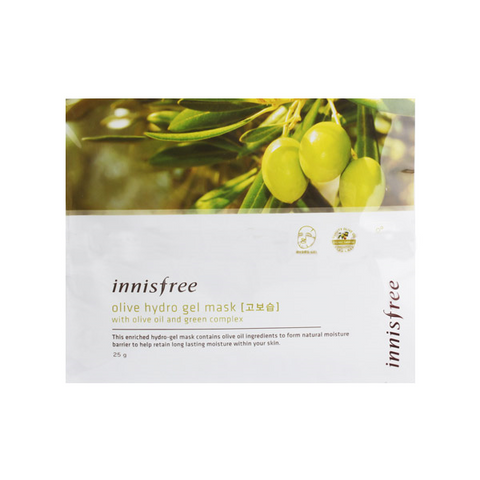 [Innisfree] Olive Hydro Gel Mask Sheet