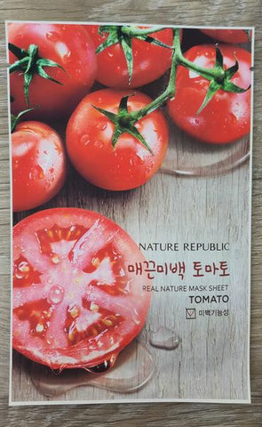[Nature Republic] Real Nature Mask Sheet -Tomato