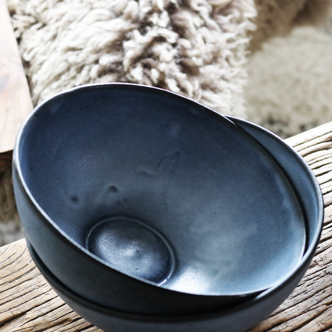 Breakfast Bowl in Blue