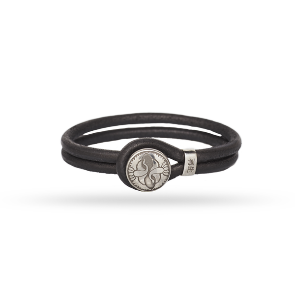 Bushi Shield Bracelet / Black