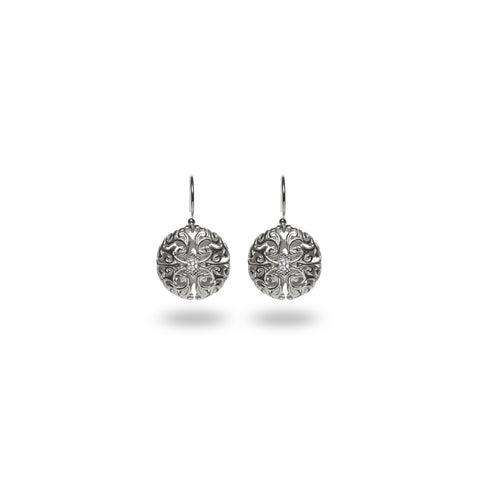 Emilia Earrings / Silver