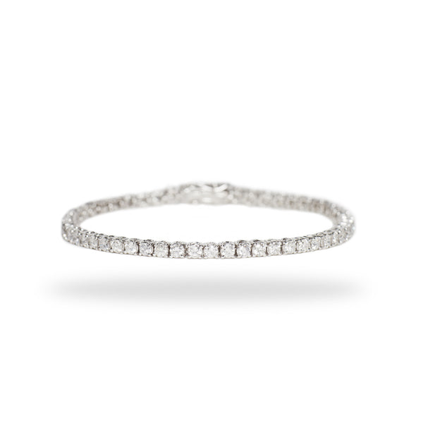 Tennis Bracelet / White Diamonds