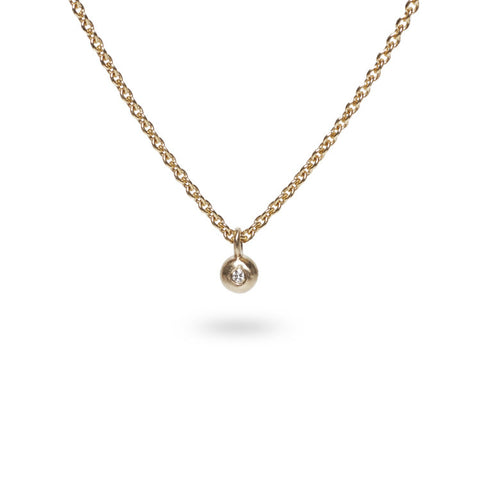 Diamond pendant / Gold