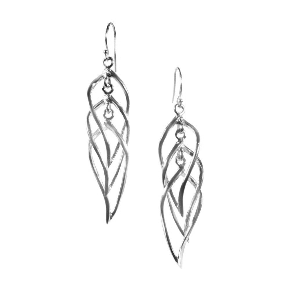 Cleopatra Earrings / Silver