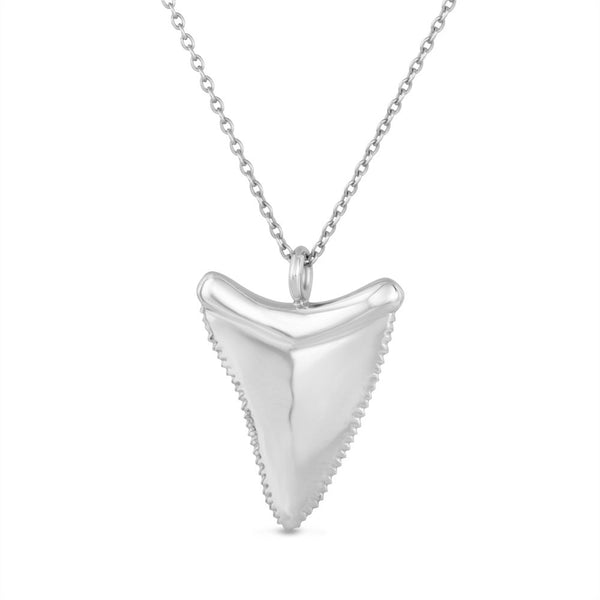 Shark Tooth / Silver