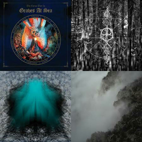 New Pre-Orders at Heavy Ritual Records - Graves At Sea, Horse Lataitudes, Lake of Violet and Like Rats