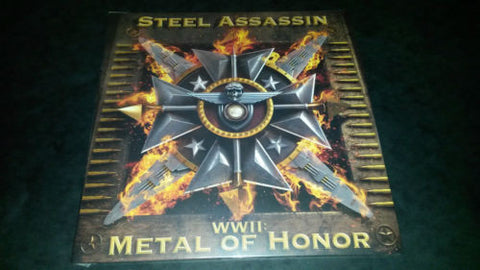 Steel Assassin WWII Metal of Honor LP vinyl