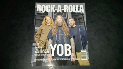 Rock-A-Rolla Magazine Issue 51 NEW Yob Earth Pallbearer Witch Mountain Metal
