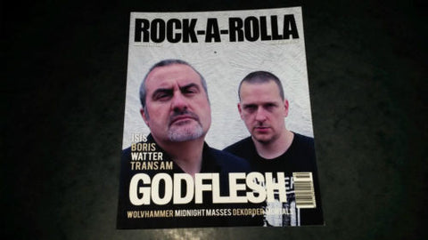 Rock-A-Rolla Magazine Issue 50 NEW Godflesh Isis Boris Mortals Wolvhammer Watter
