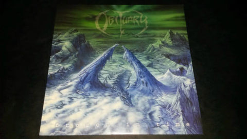 Obituary Frozen In Time LP vinyl