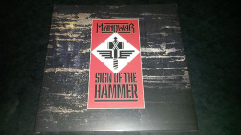 Manowar Sign of the Hammer LP NEW SEALED 180gm Gatefold Heavy Metal