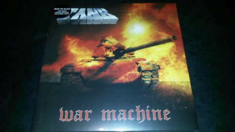Tank War Machine LP 180gm coloured vinyl gatefold sleeve