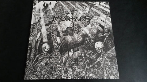 Mortals Cursed to see the Future LP vinyl in a gatefold sleeve