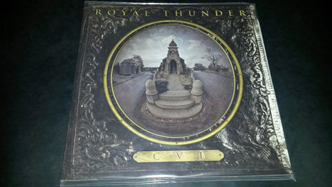 Royal Thunder CVI 2LP Black 180gm vinyl in a gatefold sleeve