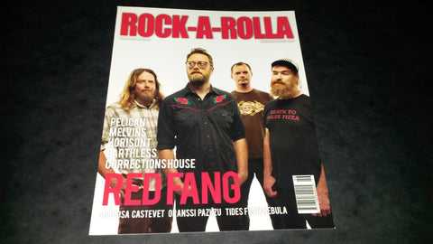 Rock-A-Rolla Magazine Issue 46 NEW Red Fang Pelican Melvins Horisont Earthless Subrosa