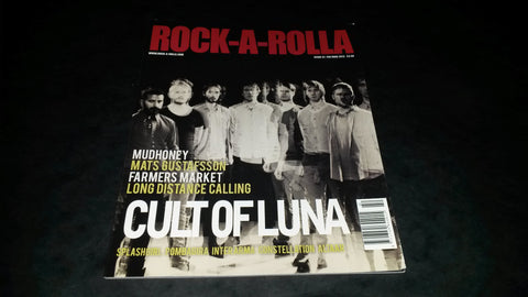 Rock-A-Rolla Magazine Issue 42 NEW Cult of Luna Inter Arma Pombagira Mudhoney