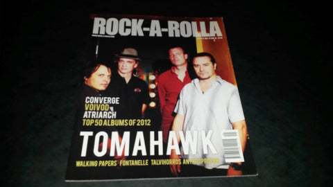 Rock-A-Rolla Magazine Issue 41 NEW Tomahawk Converge Voivod Atriarch