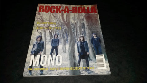 Rock-A-Rolla Magazine Issue 39 NEW Mono Goat Monster Magnet Obelyskkh