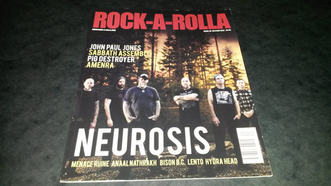 Rock-A-Rolla Magazine Issue 40 NEW Neurosis Pig Destroyer Amenra