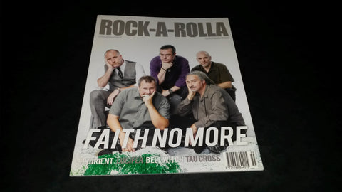 Rock-A-Rolla Magazine Issue 55 NEW Faith No More Lucifer Bell Witch Prurient Tau Cross