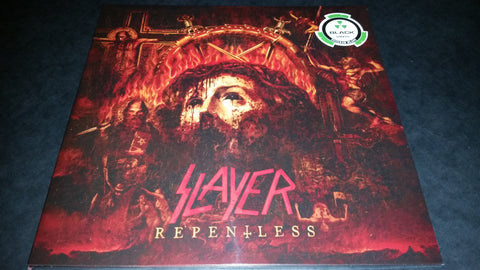 Slayer Repentless LP on Black vinyl gatefold sleeve