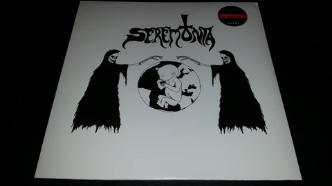 Seremonia Self Titled LP on White vinyl