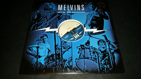 The Melvins Live at Third Man Records LP on Black Vinyl
