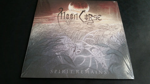 Moon Curse Spirit Remains LP on Black Vinyl gatefold sleeve