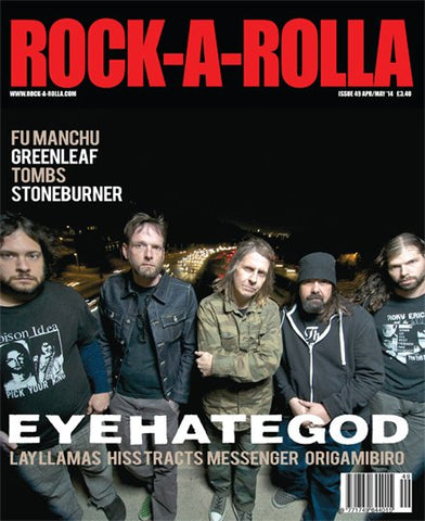 Rock-A-Rolla Magazine - Issue 49 April/May 2014