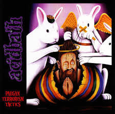 Acid Bath Paegan Terrorism Tactics 2LP on clear vinyl in gatefold sleeve