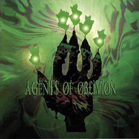 Agents of Oblivion Self Titled 2LP Green vinyl
