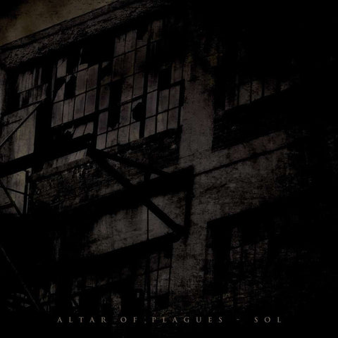 "Altar of Plagues Sol 12"" EP on Black vinyl"