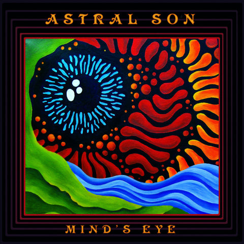 Astral Son Mind's Eye LP on Green and Yellow Marbled vinyl