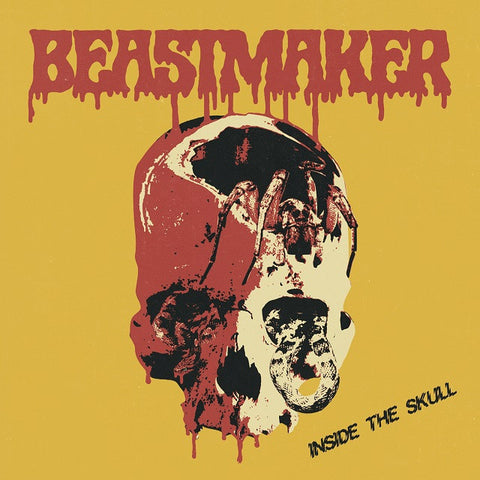Beastmaker Inside the Skull LP on Clear Red vinyl