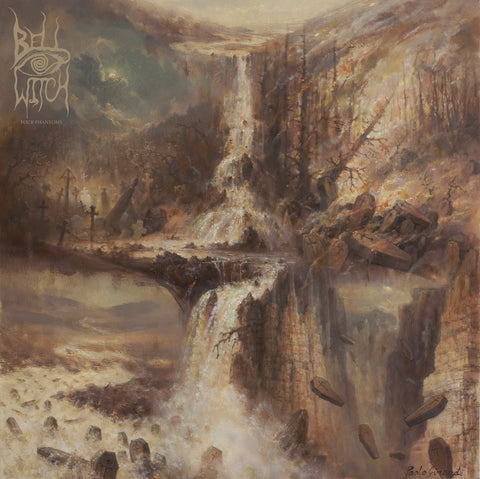 Bell Witch Four Phantoms 2LP Black vinyl gatefold sleeve + download