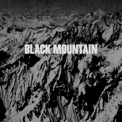 Black Mountain Self Titled 2LP 10th anniversary Grey marbled vinyl