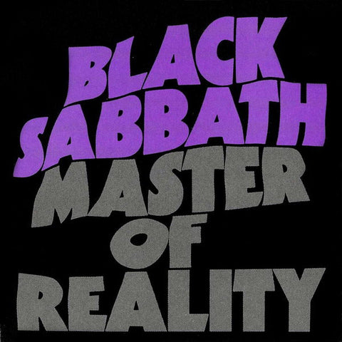 Black Sabbath Master of Reality LP + CD 180gm vinyl 2015 reissue
