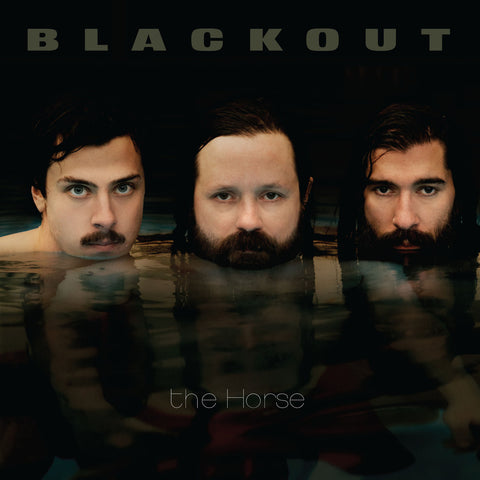 Blackout The Horse LP on Clear vinyl