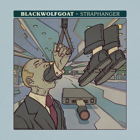 "Blackwolfgoat Larmon Clamor split 7"" single"