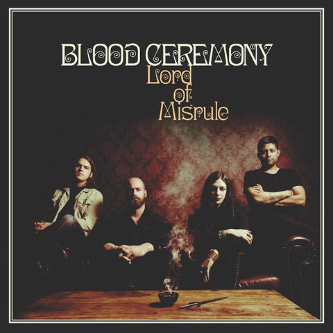 Blood Ceremony Lord of Misrule LP Red Vinyl