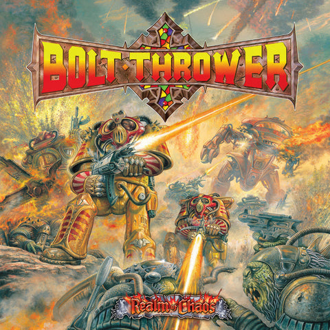 Bolt Thrower Realm of Chaos LP Black vinyl + Download