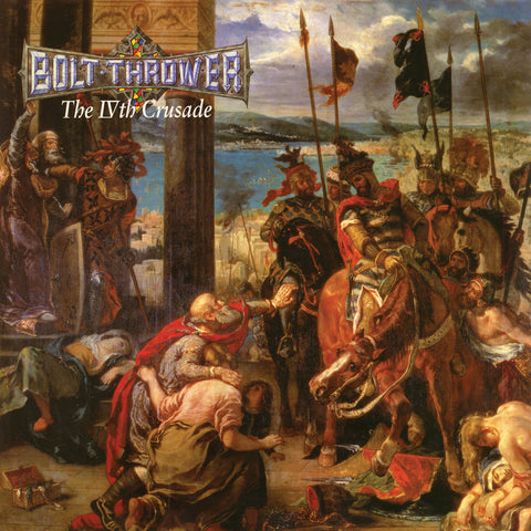 Bolt Thrower The IVth Crusade LP Black vinyl FDR Edition