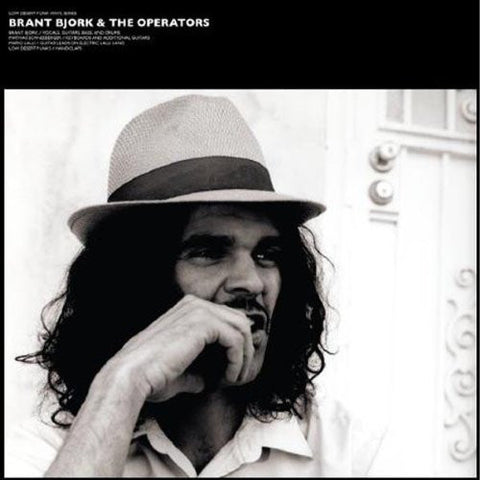 Brant Bjork and the Operators Self Titled LP on Dark Grey-Blue Marbled vinyl   View   More Duplicate