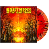 Brothers of the Sonic Cloth Self Titled LP on Red, Black & Orange vinyl