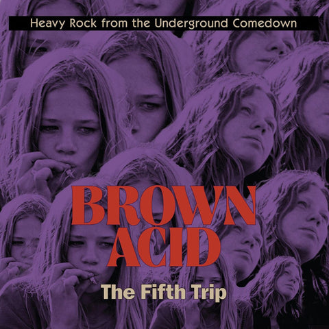 Brown Acid The Fifth Trip LP on Coloured Vinyl