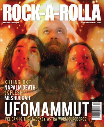 Rock-A-Rolla Magazine - Issue 37 April/May 2012